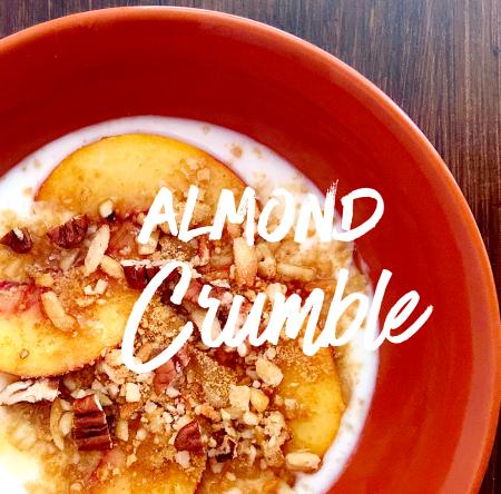Almond Breakfast Crumble