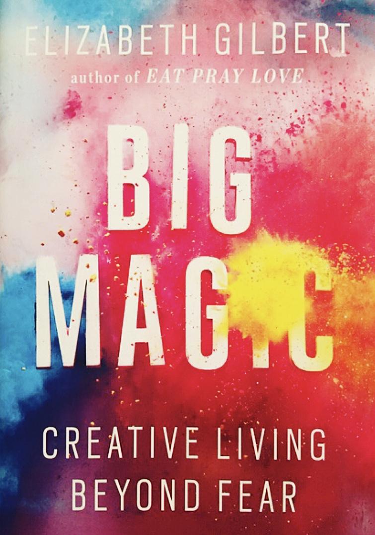 Elizabeth Gilbert Big Magic Cover