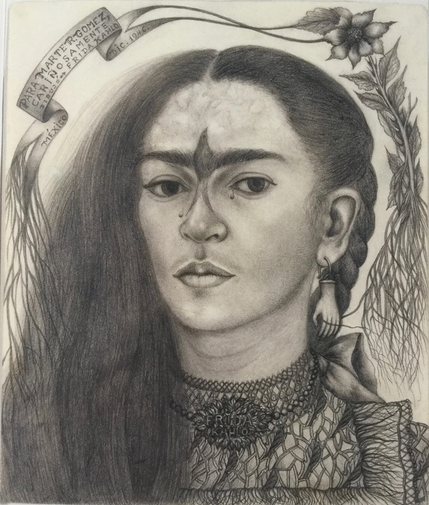 Frida Kahlo, Self Portrait (1946)