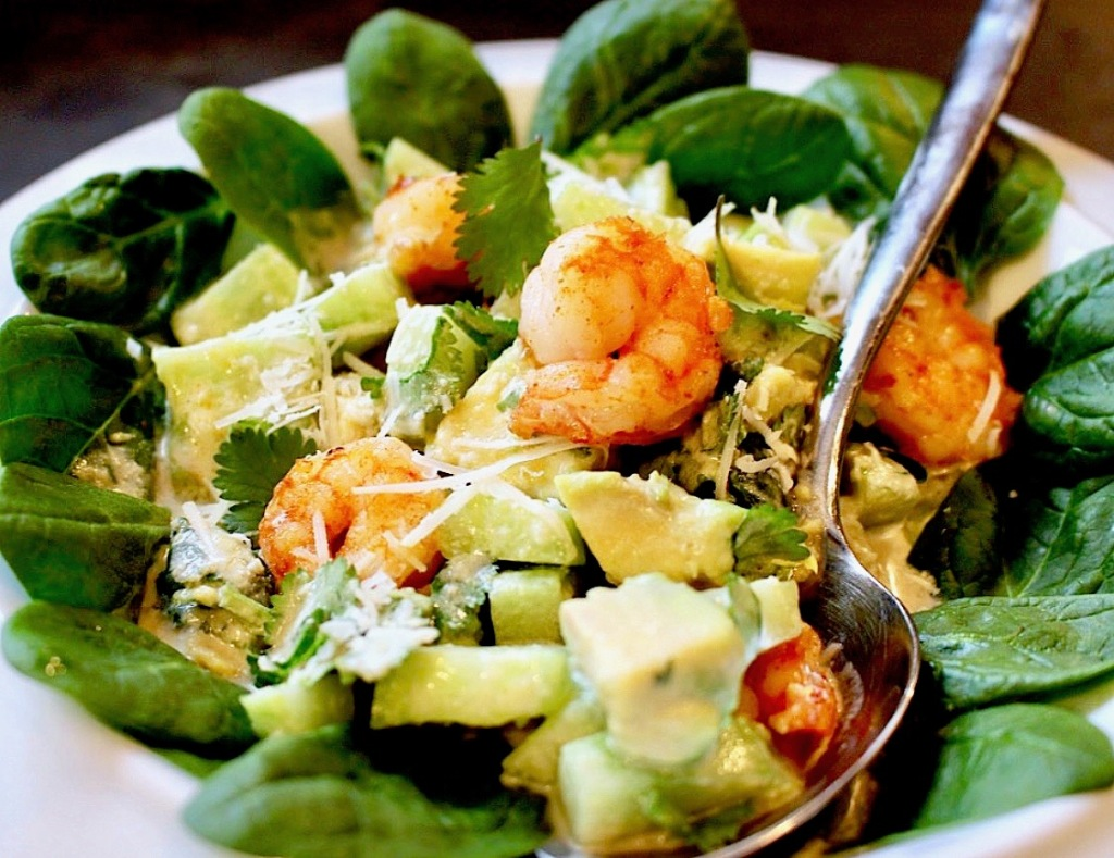 Avocado-Shrimp Salad