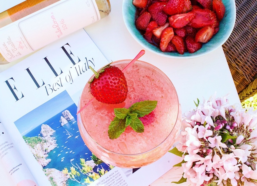 Frosé Summer Drink