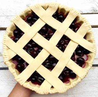 Cherry Pie Strips