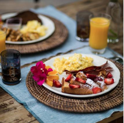 Korakia Pensione Breakfast