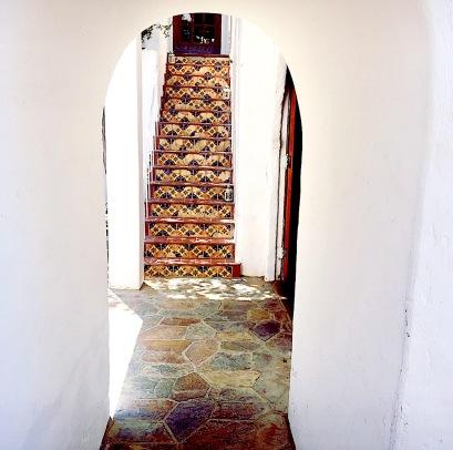 Korakia Pensione Stairs