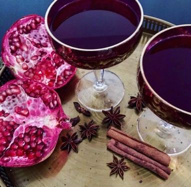 Pomegranate Mulled Wine