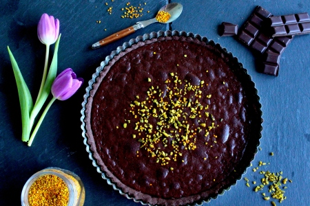 """Tarte Au Chocolate"""