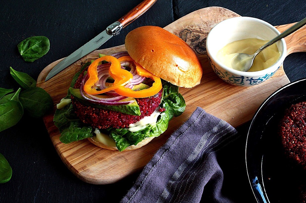 Quinoa Superfood Burger