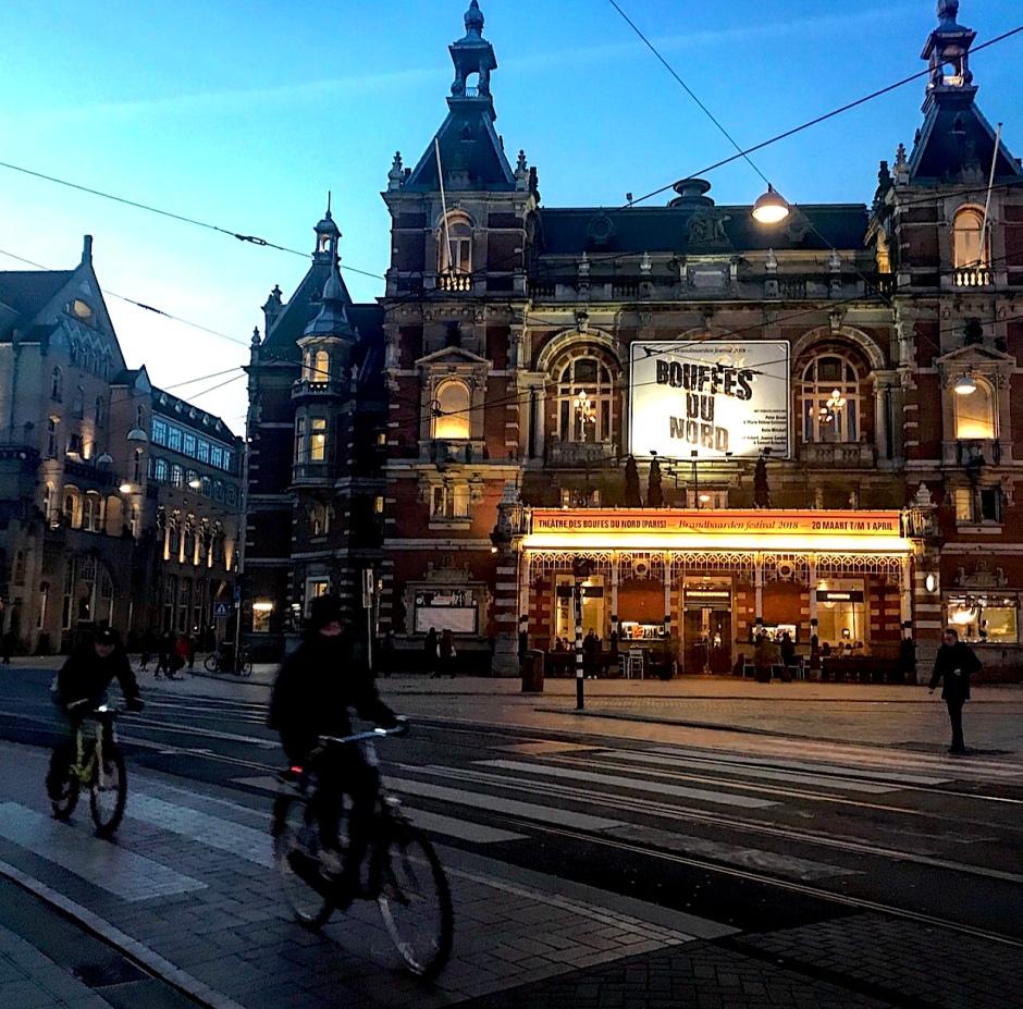Amsterdam`s Municipal Theatre(Stadsschouwburg)