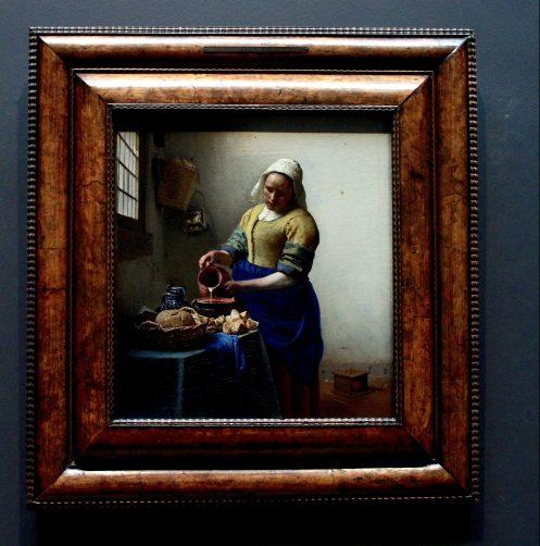 """Johannes Vermeer """"The Milkmaid"""""""