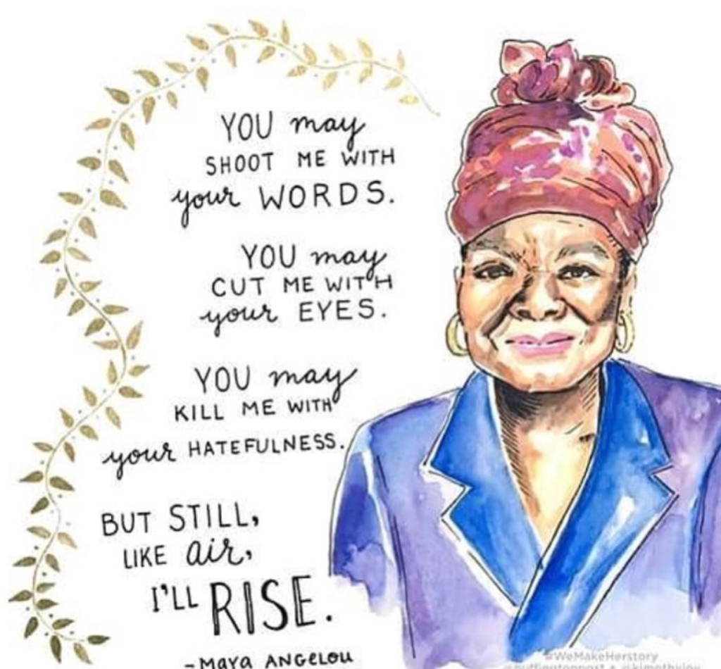 Maya Angelou (Illustration by Kimothy Joy)