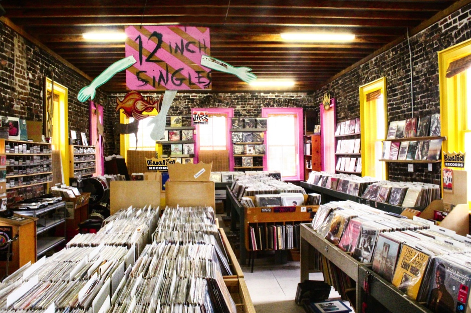 Euclid Records, a collectors heaven for vinyl records with beats from old-school to local artists.