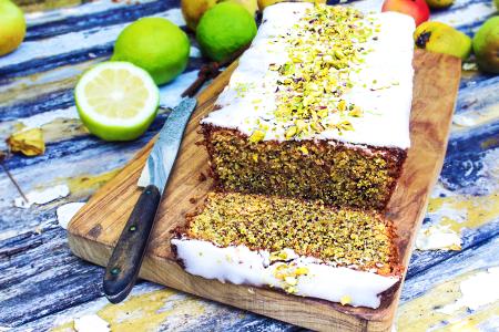 Lemon-Pistachio Cake