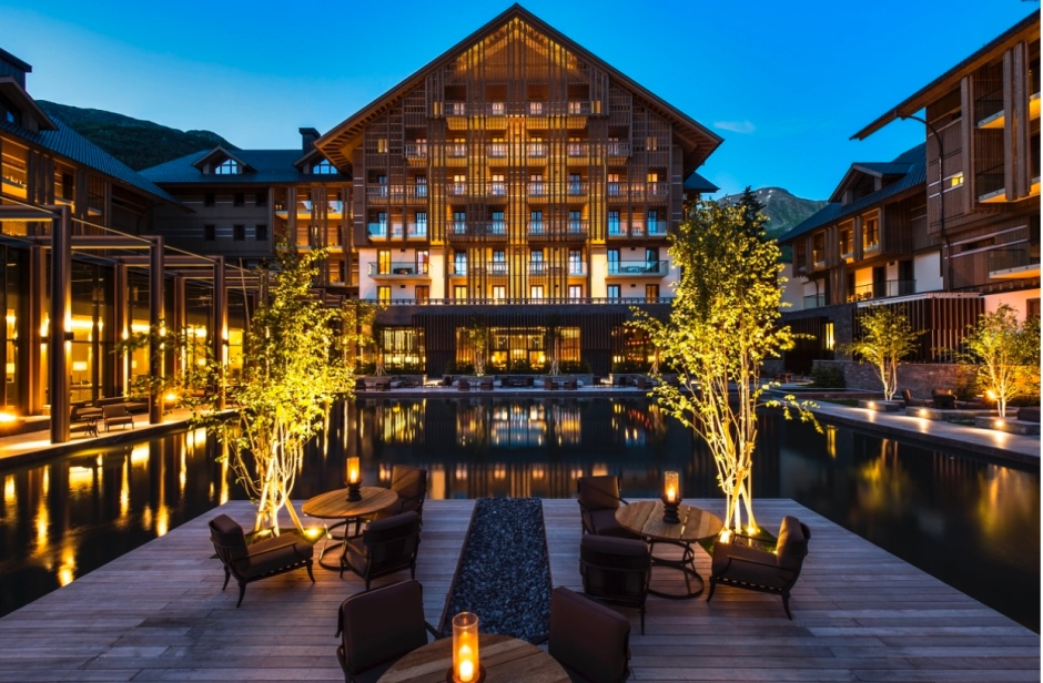 The Chedi Hotel in Andermatt